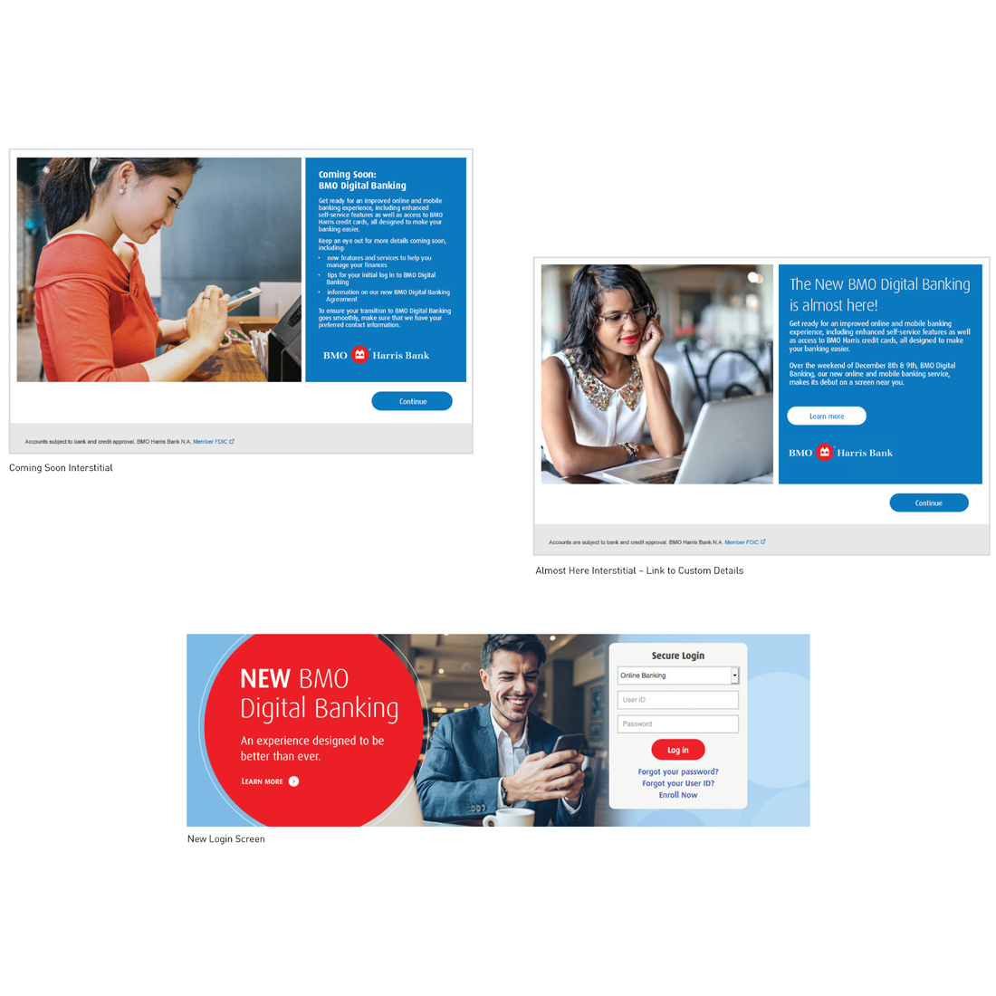 BMO Digital Banking Relaunch