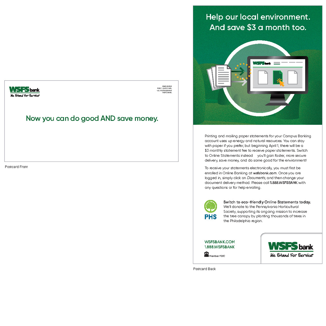 WSFS Post Conversion Friction Mitigation (Campus Banking) sample