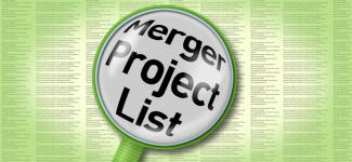 Merger Project List image